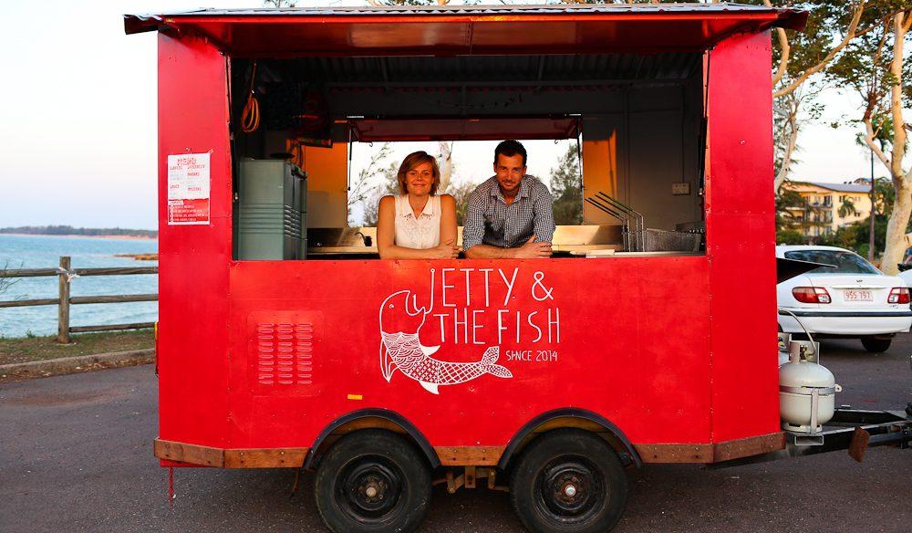 Jetty & The Fish Darwin food truck