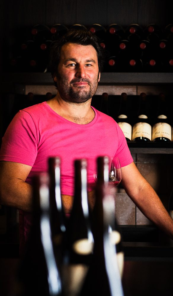 Sam Coverdale of Polperro Wines.