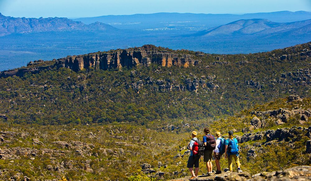 Walking in a the Grampians  wonderland.