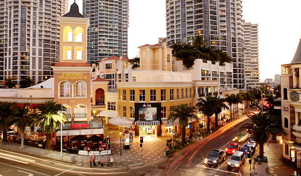 Chevron Renaissance, Gold Coast shopping mecca.
