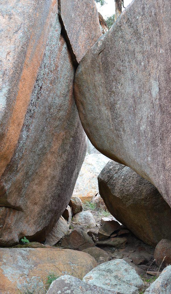 Rock formations The Grampians Photo Nicole Tujague