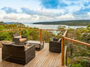 Hill Top, Royal National Park verandah