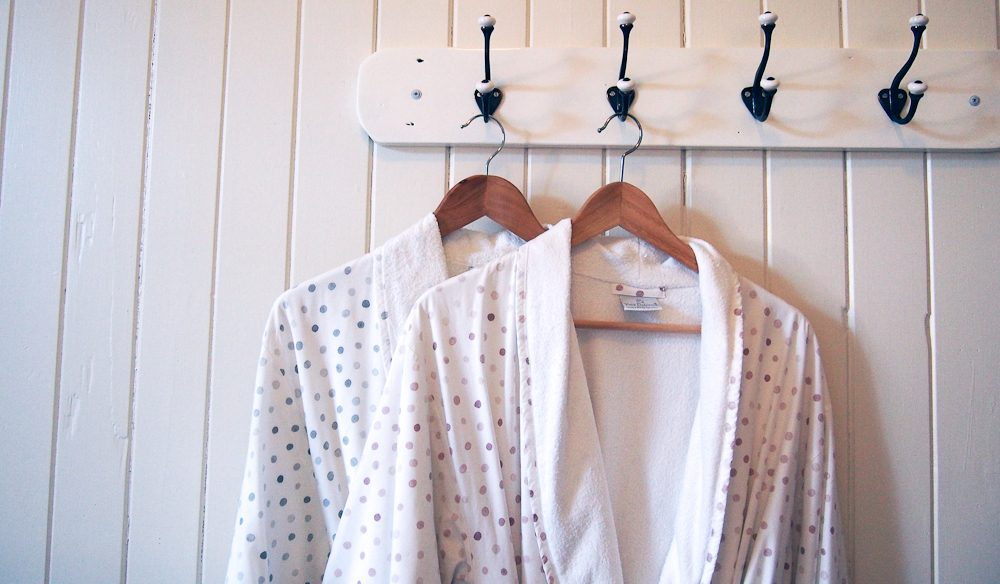 Comfy and cute: Robes just hanging at B and B Wanulla, Toowoomba (photo: Ashton Rigg).