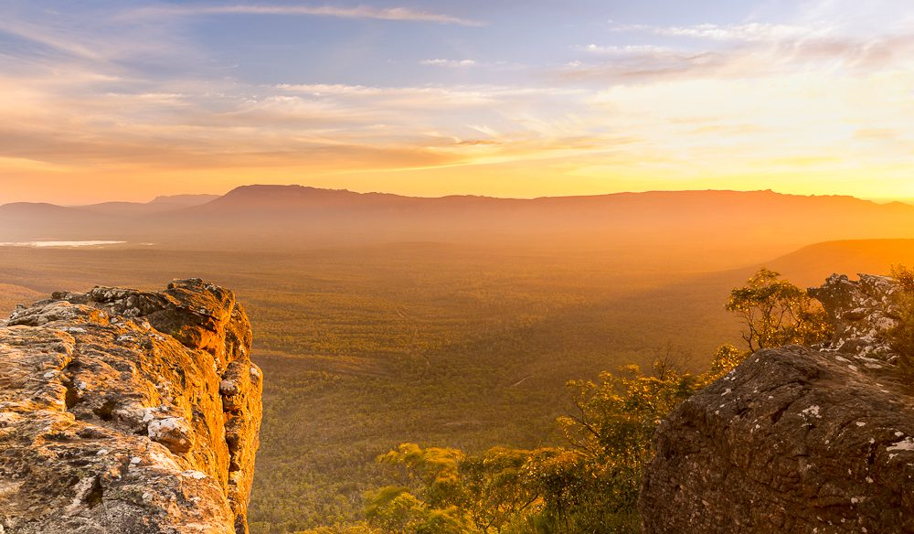 Grampians National Park VIC Sunset