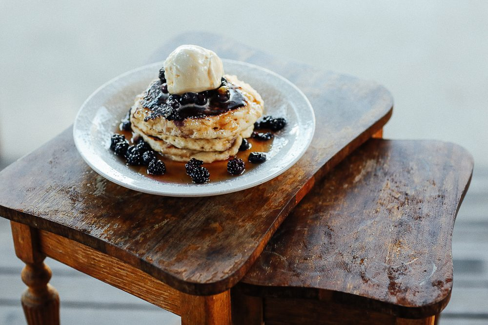 Stop at Nest cafe for the blueberry pancakes alone. (Photo: Elise Hassey)