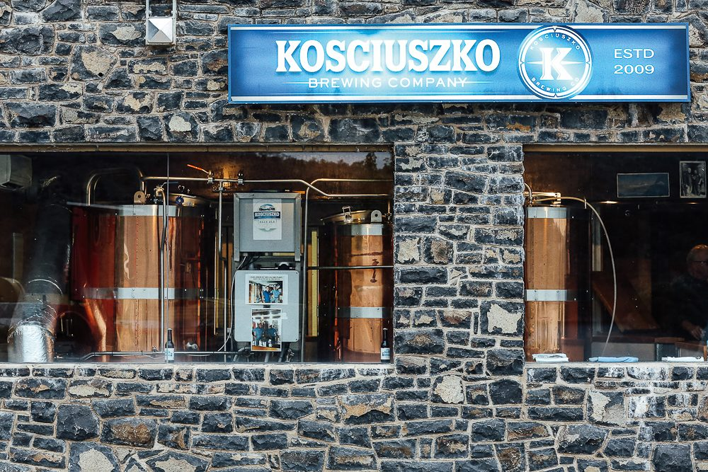 The Kosciuszko Brewing Company micro brewery at Banjo Paterson Inn. (Photo: Elise Hassey)
