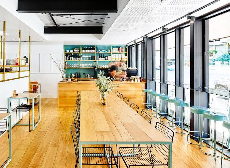 Gauge restaurant Scandinavian-style interior South Brisbane