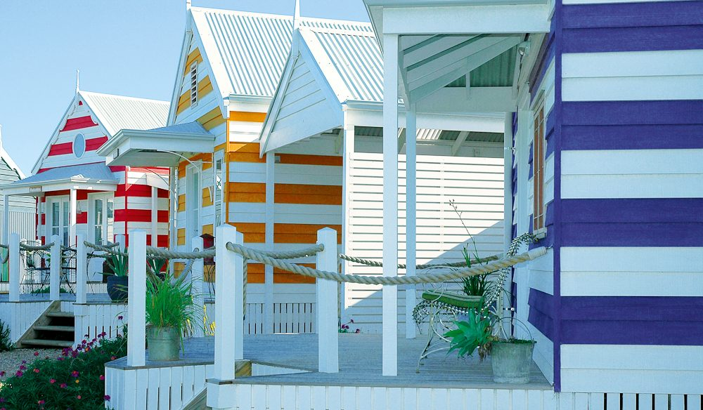 The quaint Beach Huts at Middleton – stay in one!