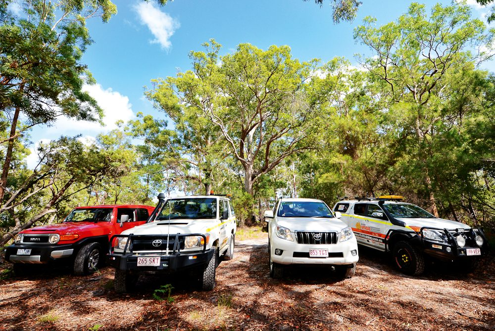 Girls, choose your 4WD: The Australian Offroad Academy's Girls Got Grit options.