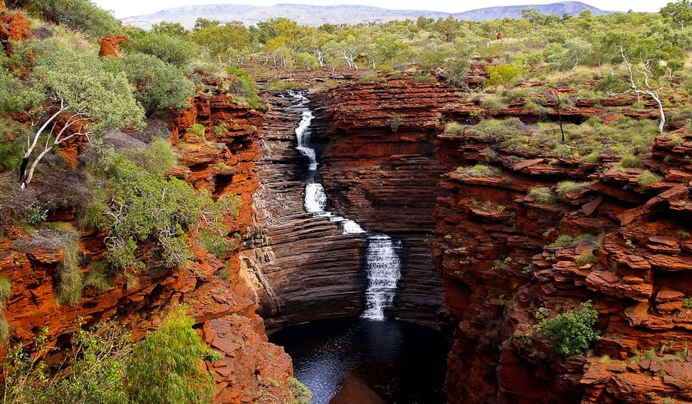 The ochre magnificence of Joffre Gorge, Karijini National Park.