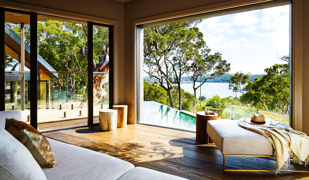 Pretty view, Pretty Beach House.