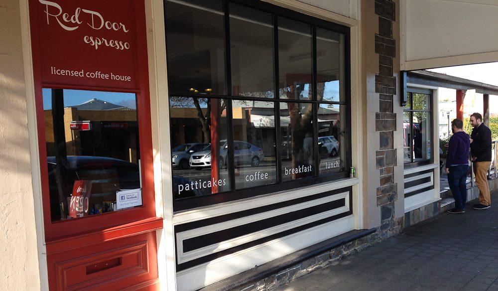 Lazy breakfast choice, Red Door, Tanunda (photo: Roshan Lewis).