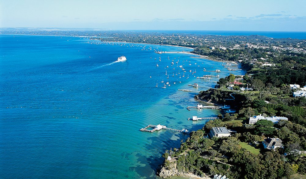 Sorrento to Portsea - as much serenity and/or activity as you choose.