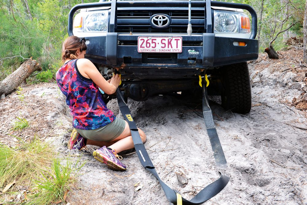 Girls Got Grit: Training begins at the The Australian Offroad Academy.