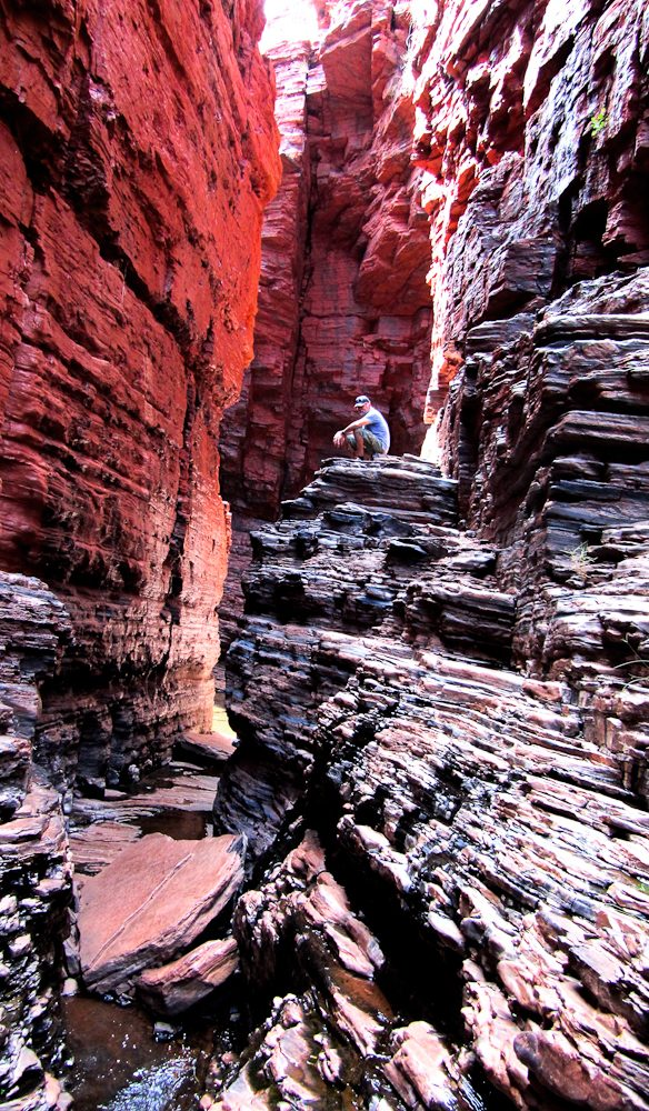 The wonderful Weano Gorge, Karijini National Park.