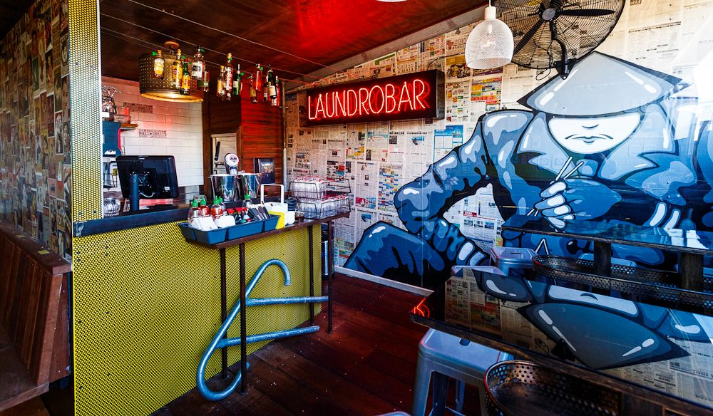 The 'Laundrobar' Lucky Chan's (photo: Jessica Wyld).
