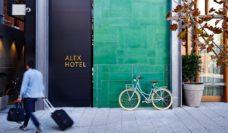 Alex Hotel Perth entry