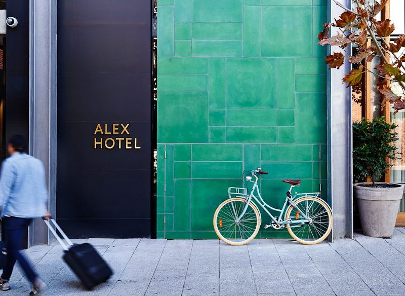 Alex Hotel Perth entry