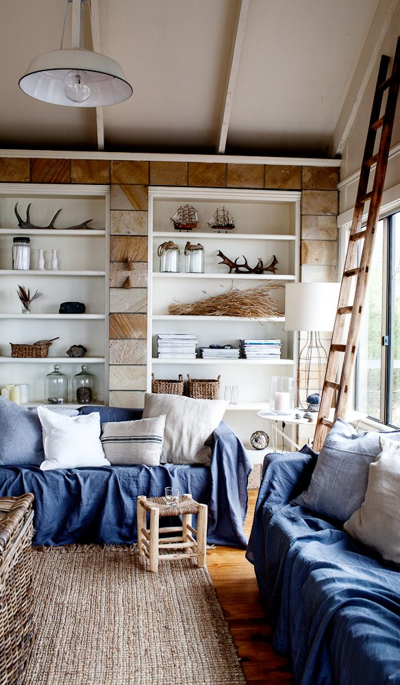The Summer House's Scandi–Tassie-style lounge (photo: Kara Rosenlund).