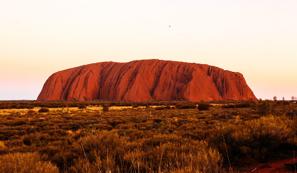 Winner One Destination You Recommend Every Australian Should Visit: Uluru (photo: Elise Hassey).