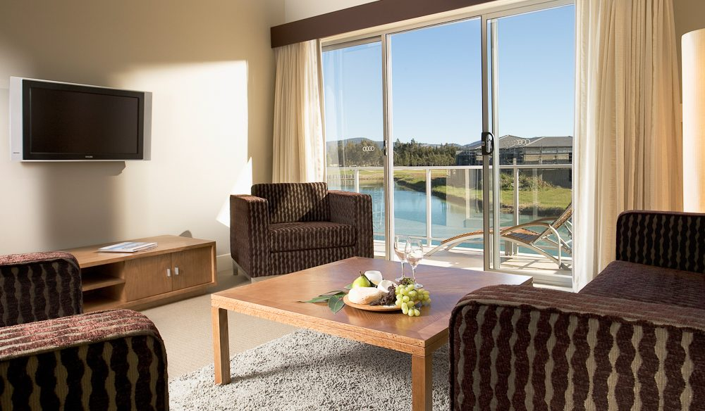 Villa view: Crowne Plaza Hunter Valley.