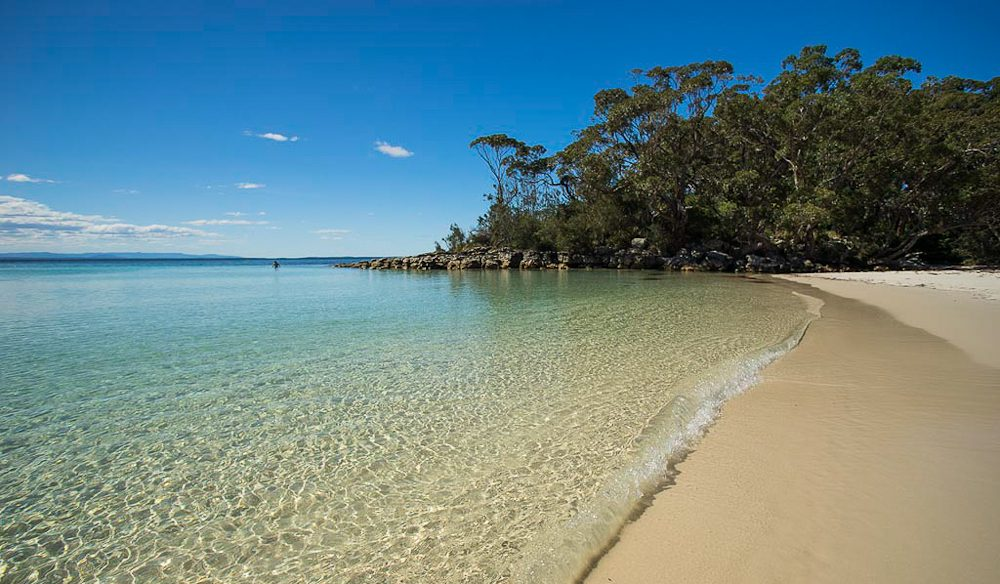 Winner Best Place to Camp 2015: Jervis Bay, NSW.