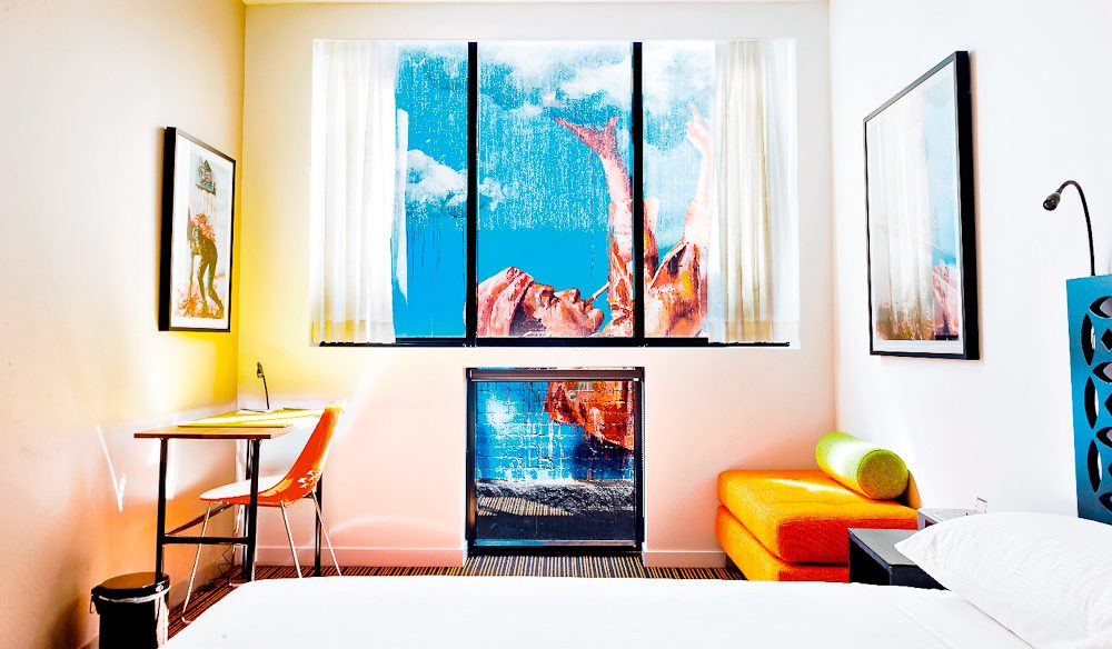Your room will be a work of art at TRYP.