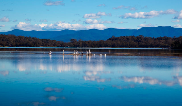 Picturesque Lake at Eurobodalla