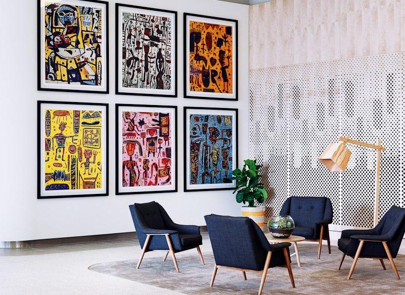 Larwill Studion Melbourne lobby