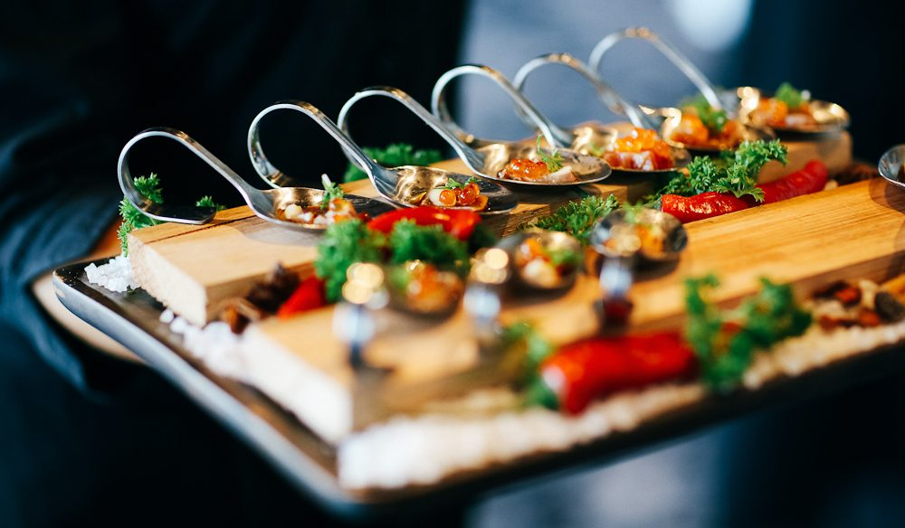 Canapes Feast: Pier One Sydney Harbour.