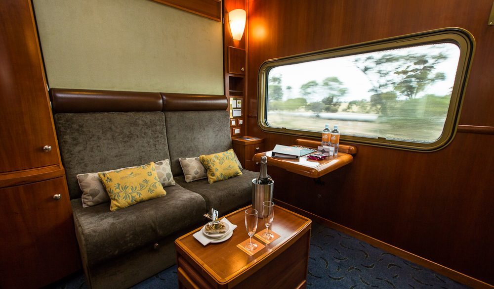Platinum Class (and gold) is identical on board The Ghan or Indian Pacific.