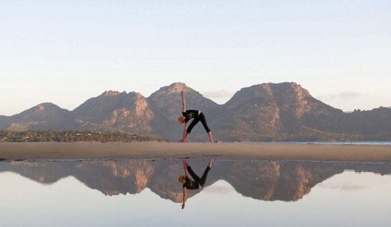 Private yoga sessions Saffire Freycinet Tasmania