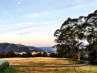 stunning outlook from Kangaroo Valley Olives