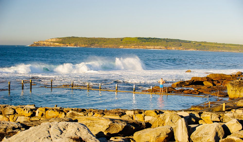 Spectacular Mahon Rock Pool, Maroubra.
