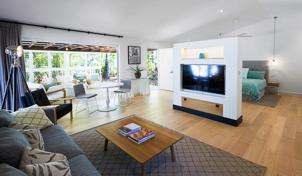 The light and airy South Suite, Orpheus Island.