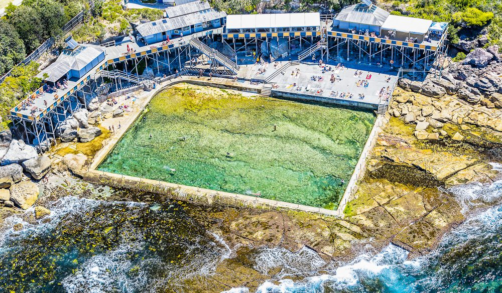 Wylie's Baths, a Coogee institution