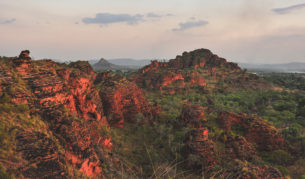 Views from Mirima National Park in Kununurra, Wester Australia