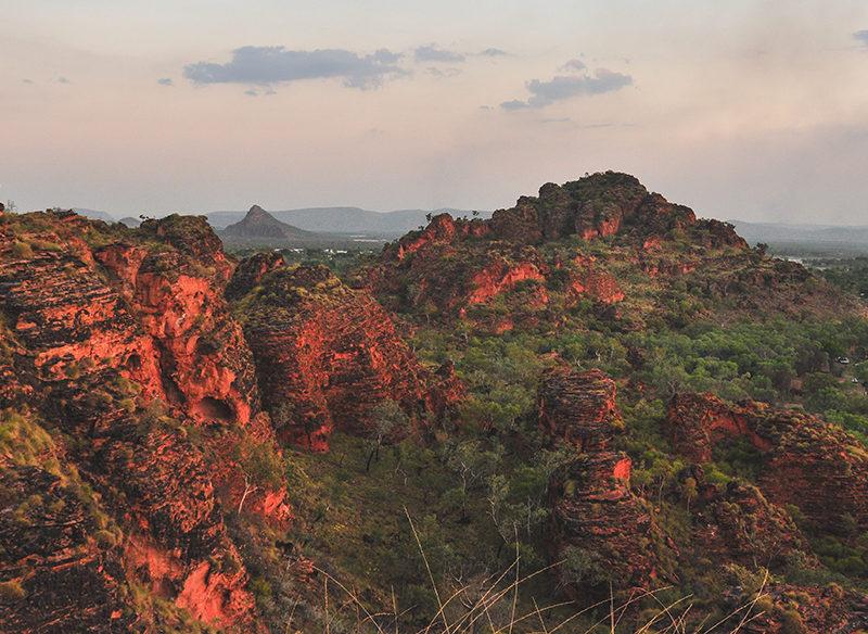 Views from Mirima National Park in Kununurra, Wester Australia