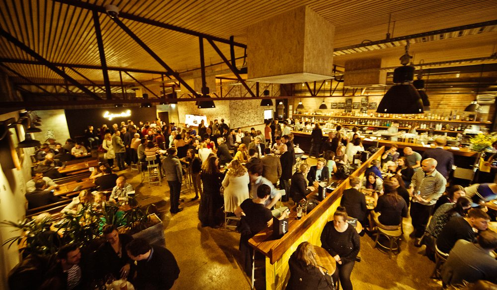 Hopscotch Bar is where the party's at – get there early to avoid the queue.