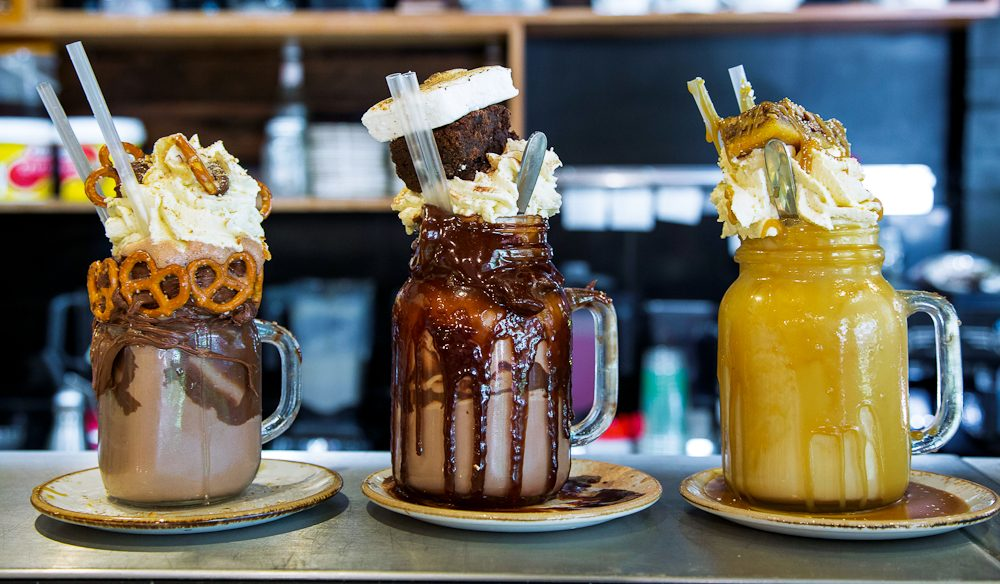 Patissez's 'freakshakes' have gained notoriety, via the internet.