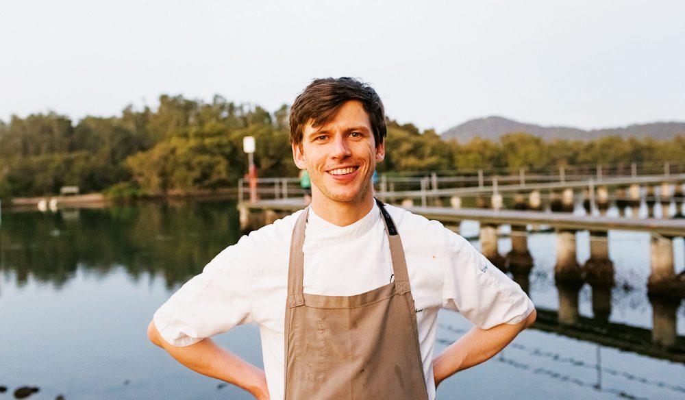 Chef Matteo Zamboni.