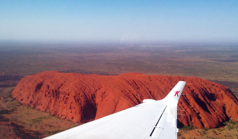 Any outback icon you want to see from the air, with Kirkhope Aviation.