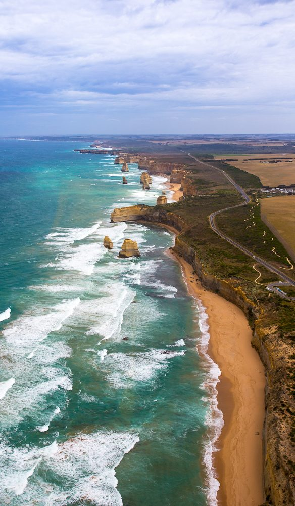 Helicopter flight 12 Apostles