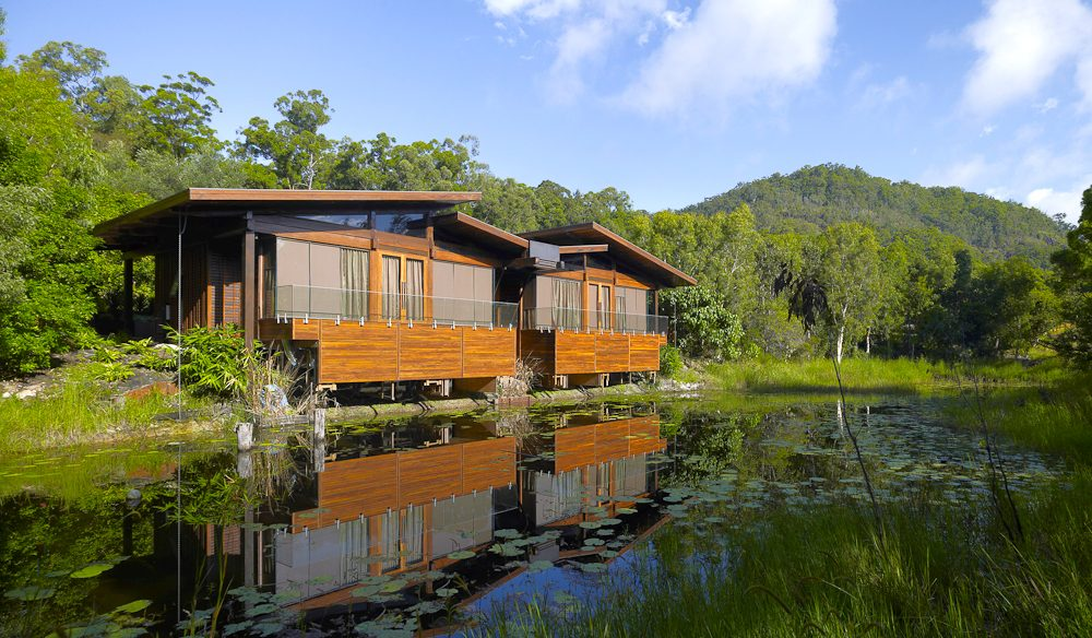 The Signature Villas perched over a billabong (photo: Jaharn Giles).