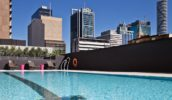 Cool in the pool, Hilton Brisbane
