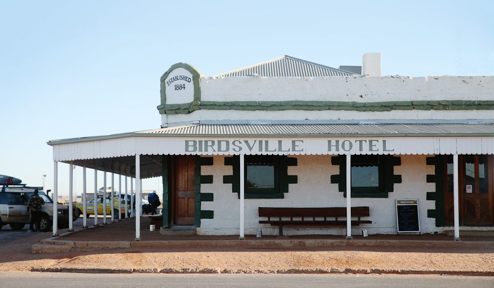 The famous Birdsville Hotel, built in 1884 (photo: Steve Madgwick).