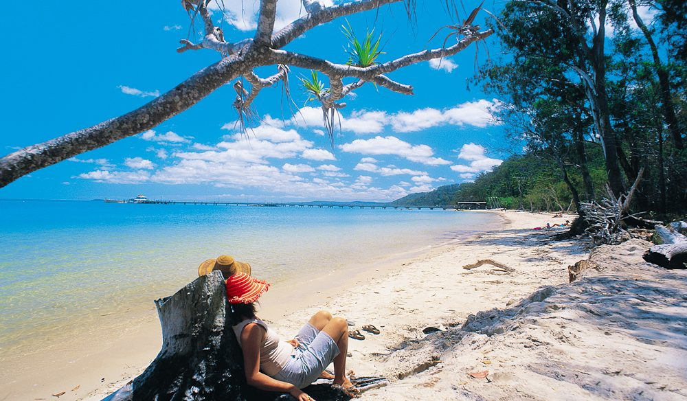 Down time: Kingfisher Bay Resort, Fraser Island.