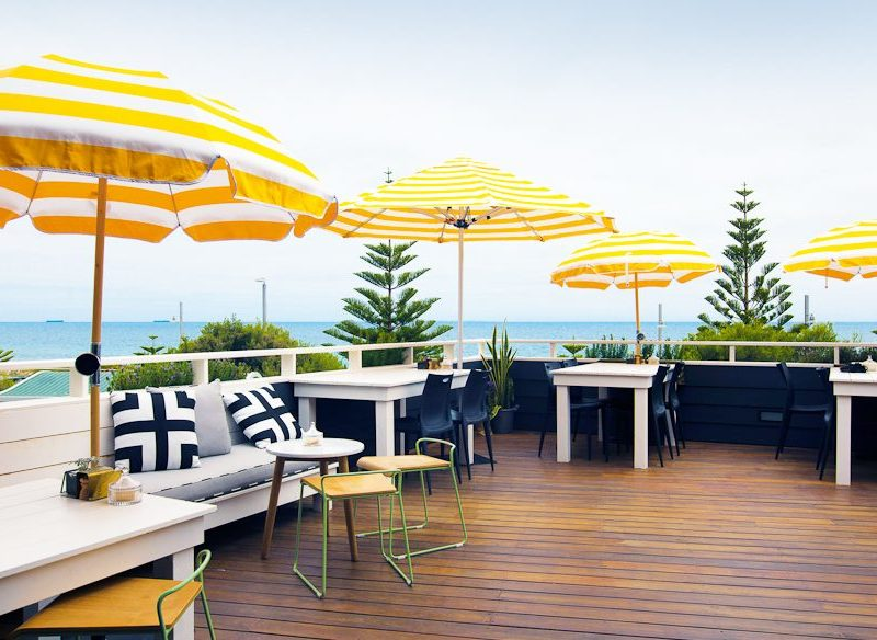 The Shorehouse's expansive sun deck