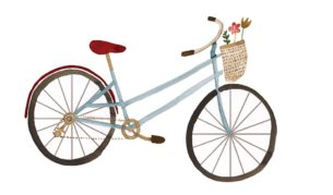 eco tips bicycle - by Livi Gosling