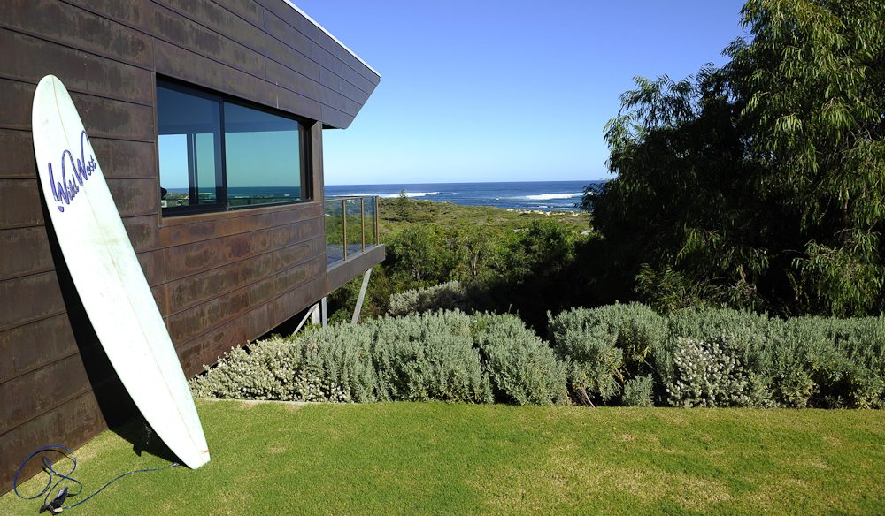 The architecturally stunning Roozen Residence right in Prevelly Beach, Margaret River.